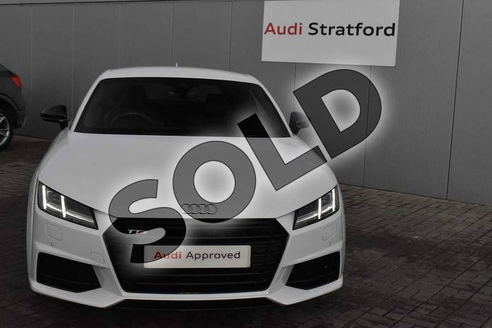 Image twenty of this 2017 Audi TT Coupe Special Editions Special Editions 2.0T FSI Quattro TTS Black Edition 2dr S Tronic in Glacier White Metallic at Stratford Audi