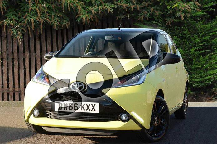 Image three of this 2016 Toyota AYGO Hatchback Special Editions Special Editions 1.0 VVT-i X-Cite 3 5dr in Yellow at Listers Toyota Coventry