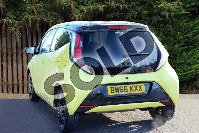 Image four of this 2016 Toyota AYGO Hatchback Special Editions Special Editions 1.0 VVT-i X-Cite 3 5dr in Yellow at Listers Toyota Coventry
