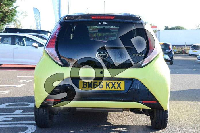 Image fifteen of this 2016 Toyota AYGO Hatchback Special Editions Special Editions 1.0 VVT-i X-Cite 3 5dr in Yellow at Listers Toyota Coventry