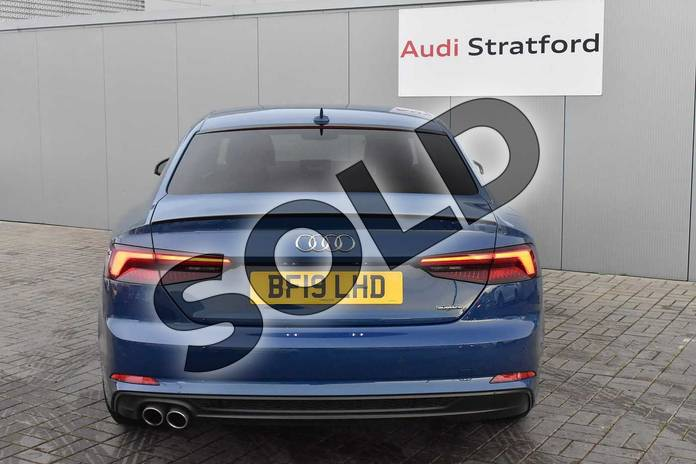 Image twelve of this 2019 Audi A5 Diesel Coupe Diesel 40 TDI Quattro Black Edition 2dr S Tronic in Ascari Blue Metallic at Stratford Audi