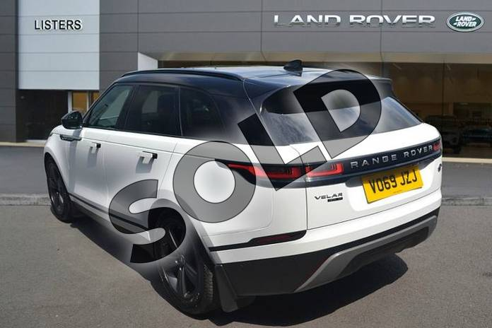 Image two of this 2019 Range Rover Velar Diesel Estate 3.0 D275 SE 5dr Auto in Fuji White at Listers Land Rover Hereford