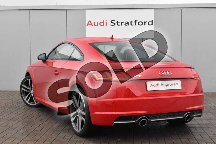 Image three of this 2017 Audi TT Coupe 2.0T FSI S Line 2dr in Tango Red Metallic at Stratford Audi