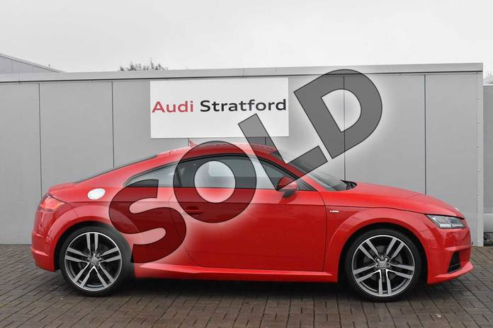 Image four of this 2017 Audi TT Coupe 2.0T FSI S Line 2dr in Tango Red Metallic at Stratford Audi