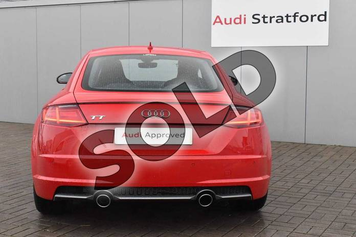 Image seven of this 2017 Audi TT Coupe 2.0T FSI S Line 2dr in Tango Red Metallic at Stratford Audi