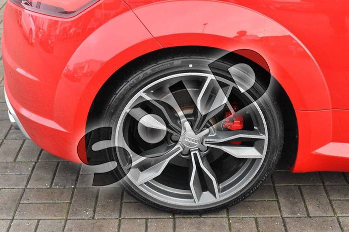 Image five of this 2016 Audi TT Coupe 2.0T FSI Quattro TTS 2dr S Tronic in Tango Red Metallic at Stratford Audi