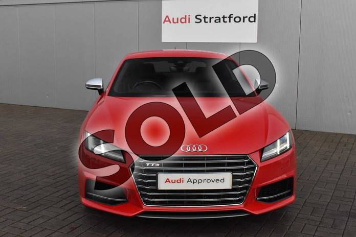 Image eighteen of this 2016 Audi TT Coupe 2.0T FSI Quattro TTS 2dr S Tronic in Tango Red Metallic at Stratford Audi