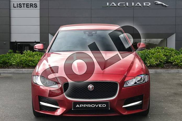 Image seven of this 2017 Jaguar XF Diesel Saloon 2.0d (180) R-Sport 4dr Auto in Firenze Red at Listers Jaguar Droitwich