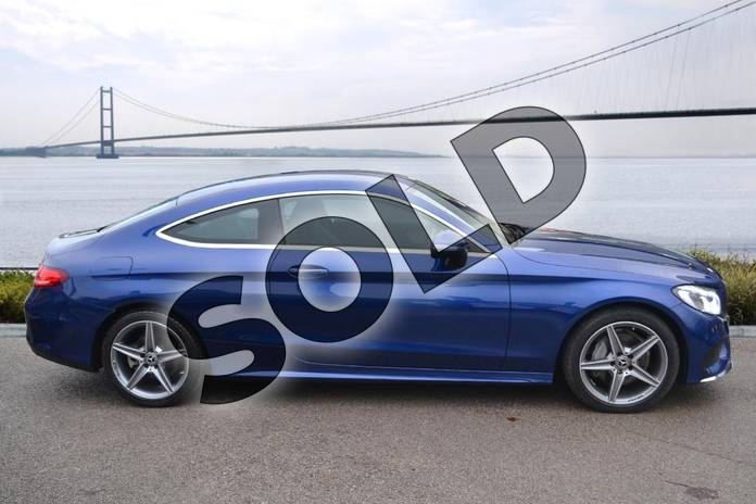 Image four of this 2016 Mercedes-Benz C Class Diesel Coupe Diesel C220d AMG Line 2dr Auto in Brilliant Blue Metallic at Mercedes-Benz of Hull