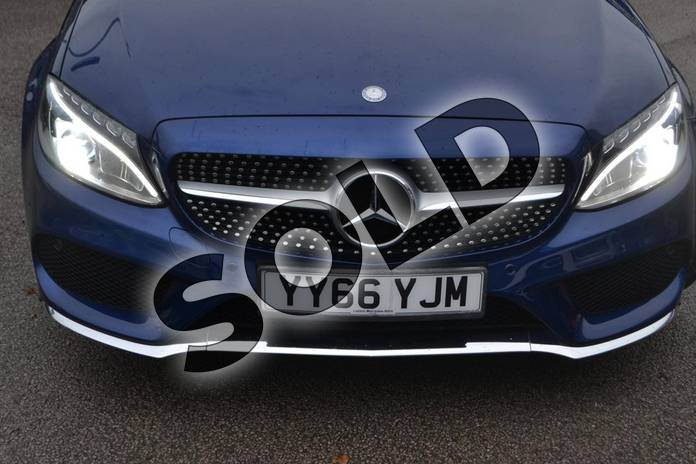 Image eight of this 2016 Mercedes-Benz C Class Diesel Coupe Diesel C220d AMG Line 2dr Auto in Brilliant Blue Metallic at Mercedes-Benz of Hull