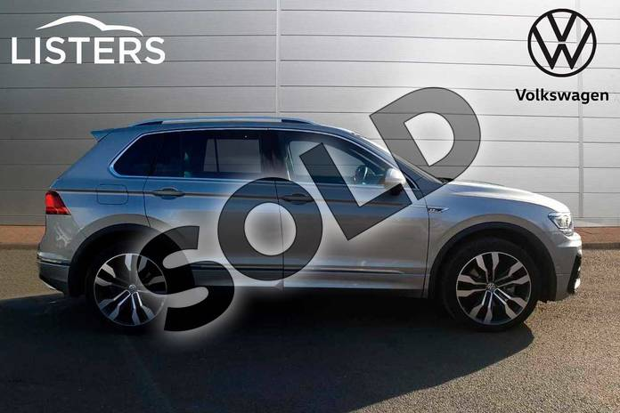 Image four of this 2019 Volkswagen Tiguan Estate 2.0 TSI 230 4Motion R Line Tech 5dr DSG in Tungsten Silver at Listers Volkswagen Coventry
