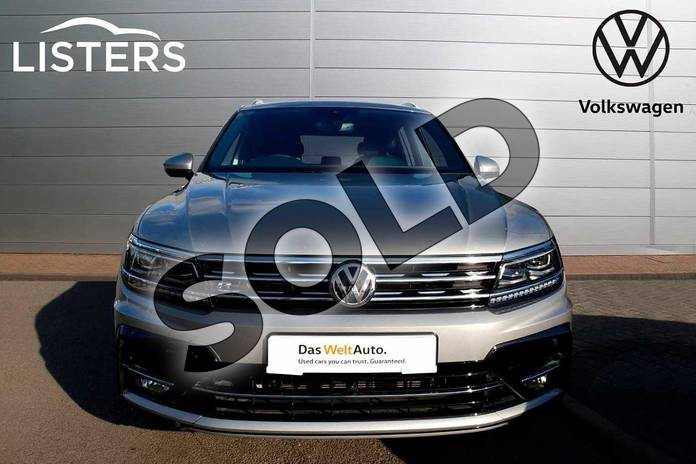 Image seven of this 2019 Volkswagen Tiguan Estate 2.0 TSI 230 4Motion R Line Tech 5dr DSG in Tungsten Silver at Listers Volkswagen Coventry
