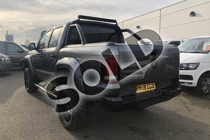 Image three of this 2019 Volkswagen Amarok A33 Diesel D/Cab Pick Up Highline 3.0 V6 TDI 258 BMT 4M Auto in Indium Grey at Listers Volkswagen Van Centre Worcestershire