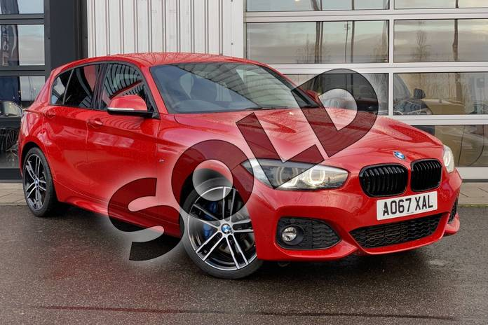 Picture of BMW 1 Series 118d M Sport Shadow Edition 5-door in Melbourne Red metallic