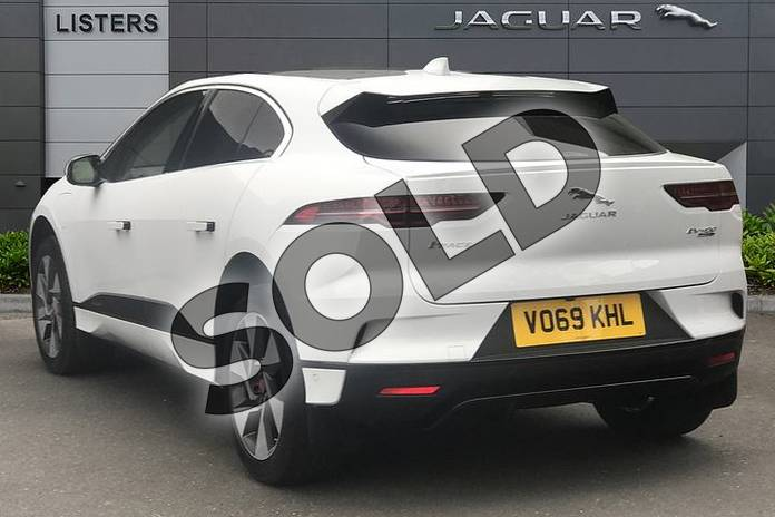 Image two of this 2019 Jaguar I-PACE Estate 294kW EV400 SE 90kWh 5dr Auto in Yulong White at Listers Jaguar Droitwich