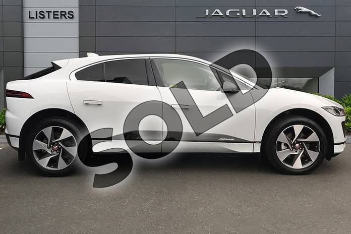 Image five of this 2019 Jaguar I-PACE Estate 294kW EV400 SE 90kWh 5dr Auto in Yulong White at Listers Jaguar Droitwich