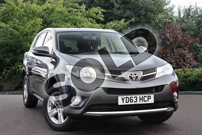 Picture of Toyota RAV4 2.0 D-4D Icon 5dr 2WD in Grey