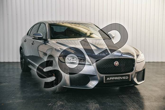 Picture of Jaguar XF 2.0 i4 Petrol (300PS) Chequered Flag AWD in Eiger Grey