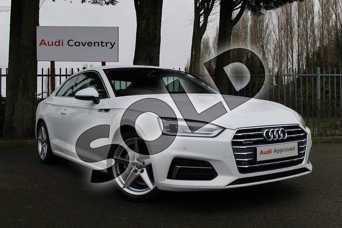 Audi A5 Diesel Coupe 40 TDI Quattro Sport 2dr S Tronic