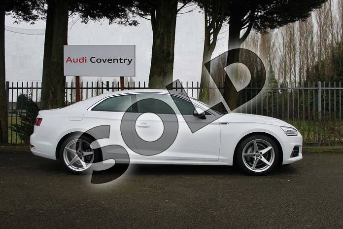 Image four of this 2019 Audi A5 Diesel Coupe 40 TDI Quattro Sport 2dr S Tronic in Ibis White at Coventry Audi