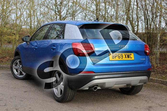 Image three of this 2019 Audi Q2 Diesel Estate 30 TDI Sport 5dr in Ara Blue Crystal Effect at Coventry Audi