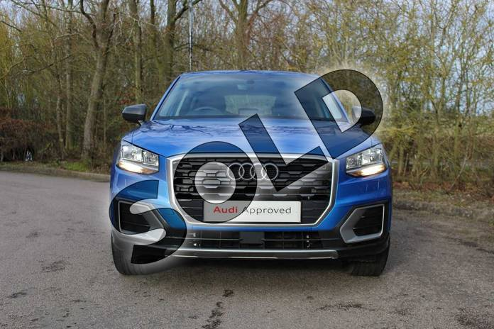 Image seven of this 2019 Audi Q2 Diesel Estate 30 TDI Sport 5dr in Ara Blue Crystal Effect at Coventry Audi