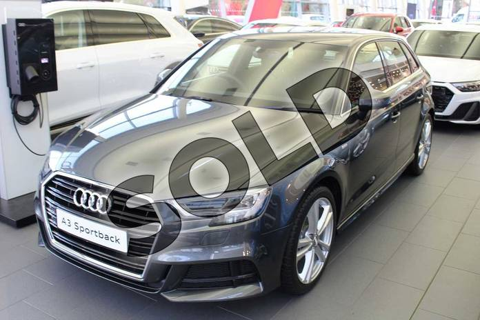 Image four of this 2019 Audi A3 Diesel Sportback 30 TDI 116 S Line 5dr S Tronic in Daytona Grey Pearlescent at Birmingham Audi