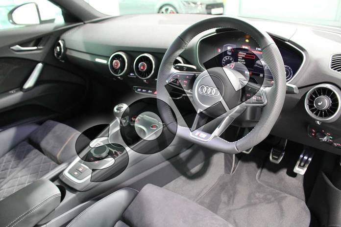 Image six of this 2019 Audi TT Coupe 45 TFSI S Line 2dr in Glacier White Metallic at Birmingham Audi