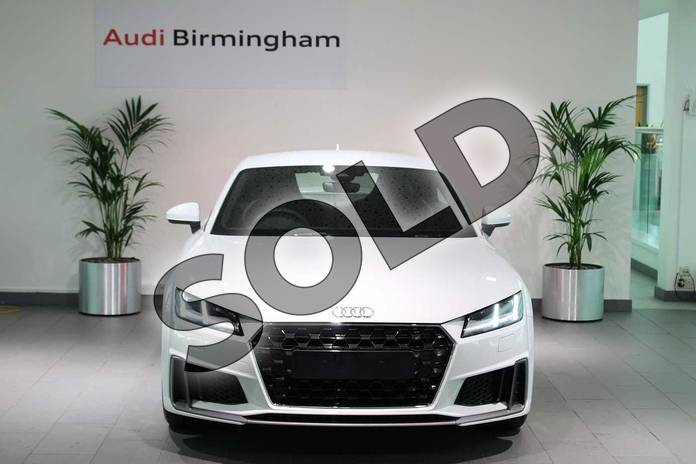 Image seven of this 2019 Audi TT Coupe 45 TFSI S Line 2dr in Glacier White Metallic at Birmingham Audi