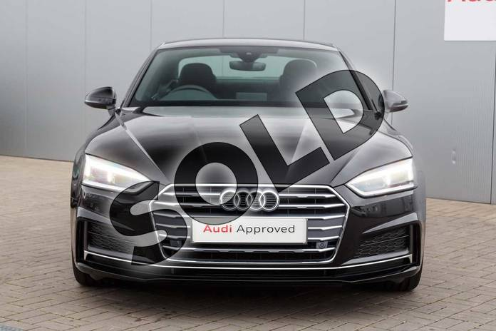 Image seven of this 2019 Audi A5 Diesel Coupe 40 TDI S Line 2dr S Tronic in Brilliant Black at Stratford Audi