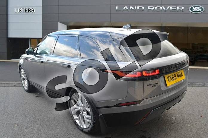 Image two of this 2019 Range Rover Velar Diesel Estate 2.0 D240 R-Dynamic SE 5dr Auto in Eiger Grey at Listers Land Rover Hereford