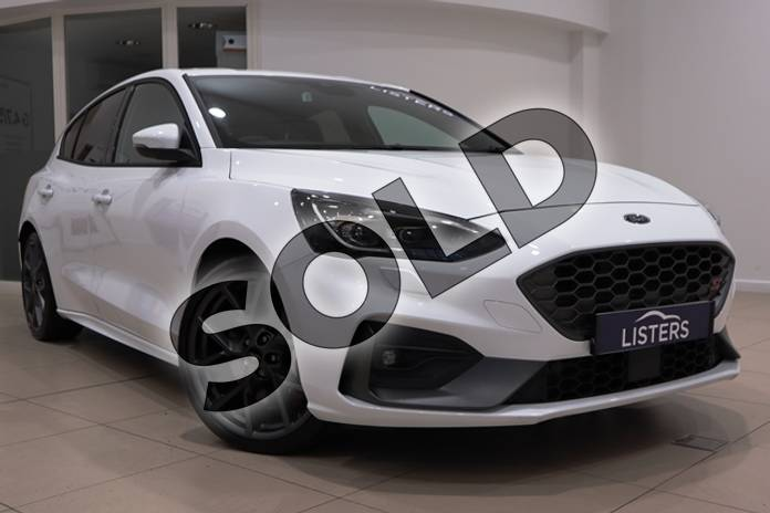 Picture of Ford Focus 2.3 EcoBoost ST 5dr in Premium paint - Frozen white