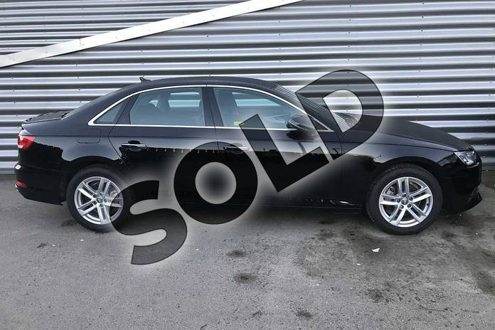 Image three of this 2019 Audi A4 Diesel Saloon 35 TDI SE 4dr S Tronic in Brilliant Black at Birmingham Audi
