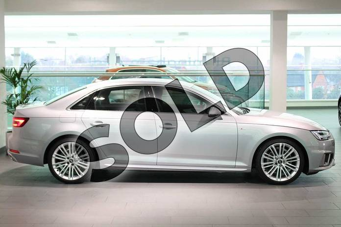 Image four of this 2019 Audi A4 Diesel Saloon 35 TDI S Line 4dr S Tronic in Floret Silver Metallic at Birmingham Audi