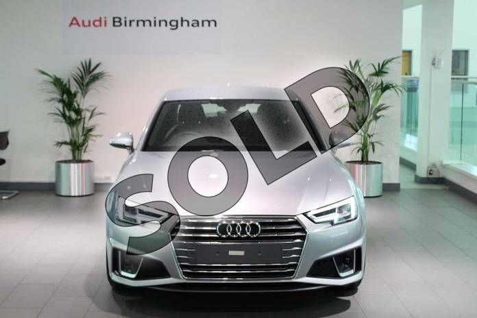 Image seven of this 2019 Audi A4 Diesel Saloon 35 TDI S Line 4dr S Tronic in Floret Silver Metallic at Birmingham Audi