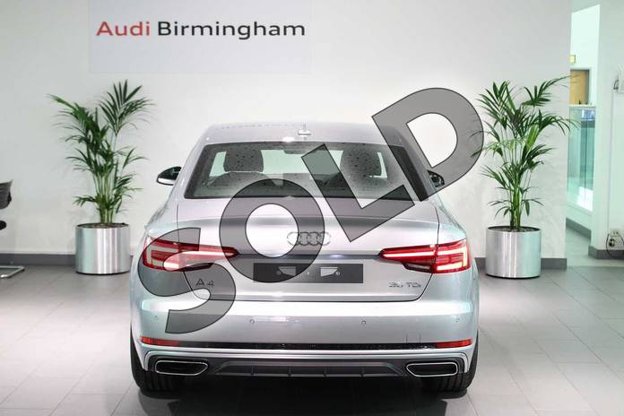 Image thirteen of this 2019 Audi A4 Diesel Saloon 35 TDI S Line 4dr S Tronic in Floret Silver Metallic at Birmingham Audi