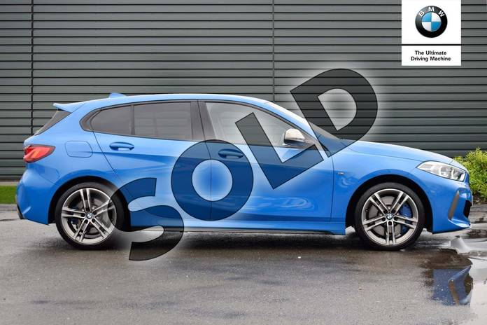 Image two of this 2019 BMW 1 Series Hatchback M135i xDrive 5dr Step Auto in Misano Blue metallic at Listers Boston (BMW)