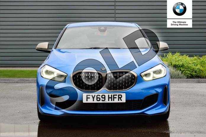 Image four of this 2019 BMW 1 Series Hatchback M135i xDrive 5dr Step Auto in Misano Blue metallic at Listers Boston (BMW)