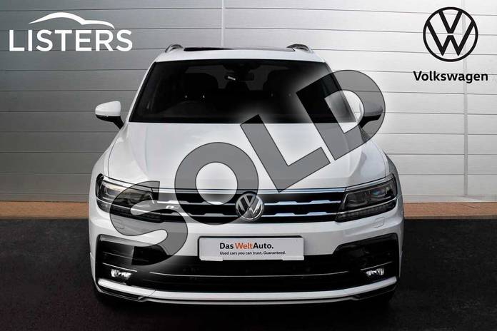 Image seven of this 2019 Volkswagen Tiguan Allspace Diesel Estate 2.0 TDI R Line Tech 5dr DSG in Pure White at Listers Volkswagen Evesham