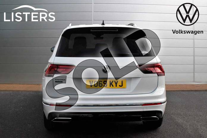 Image nine of this 2019 Volkswagen Tiguan Allspace Diesel Estate 2.0 TDI R Line Tech 5dr DSG in Pure White at Listers Volkswagen Evesham