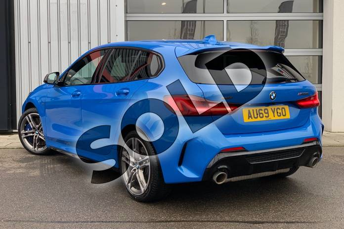 Image two of this 2019 BMW 1 Series Hatchback M135i xDrive 5dr Step Auto in Misano Blue metallic at Listers King's Lynn (BMW)