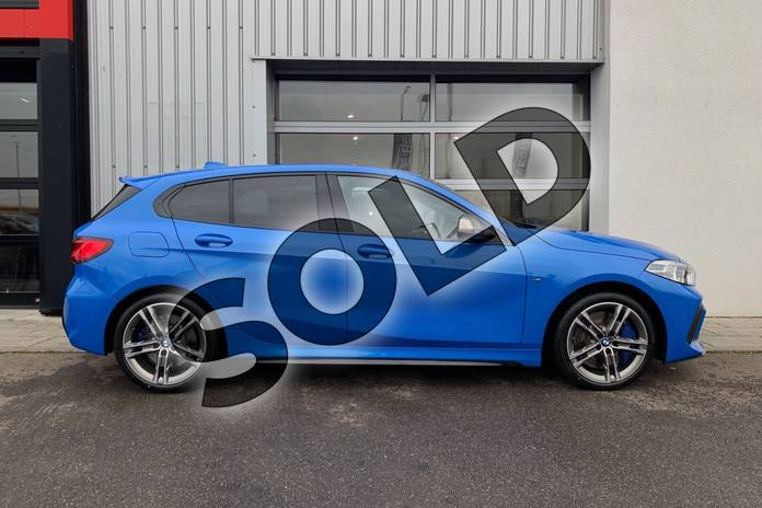 Image three of this 2019 BMW 1 Series Hatchback M135i xDrive 5dr Step Auto in Misano Blue metallic at Listers King's Lynn (BMW)
