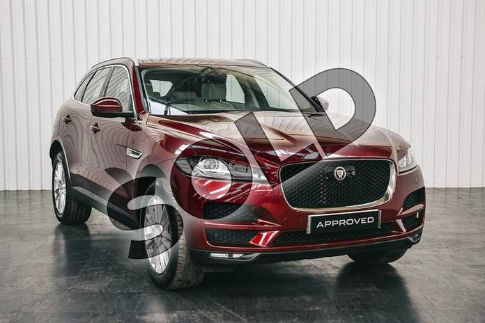 Picture of Jaguar F-PACE 2.0 i4 Diesel (180PS) Portfolio AWD in Montalcino Red