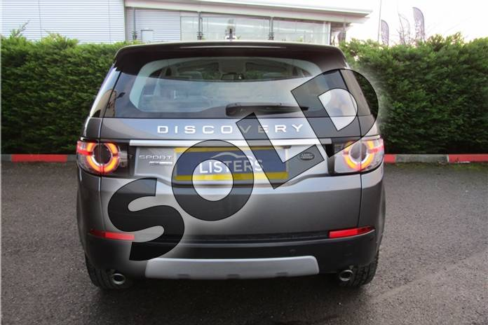 Image two of this 2015 Land Rover Discovery Sport Diesel SW 2.2 SD4 HSE Luxury 5dr Auto in Metallic - Corris grey at Listers U Boston