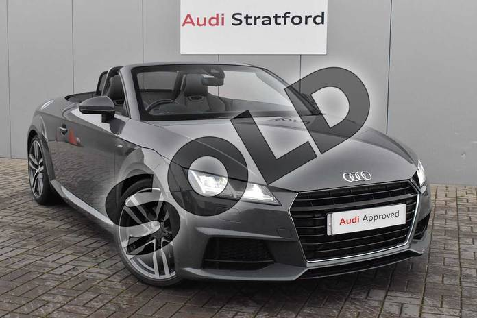 Picture of Audi TT 2.0T FSI S Line 2dr S Tronic in Nano Grey, metallic