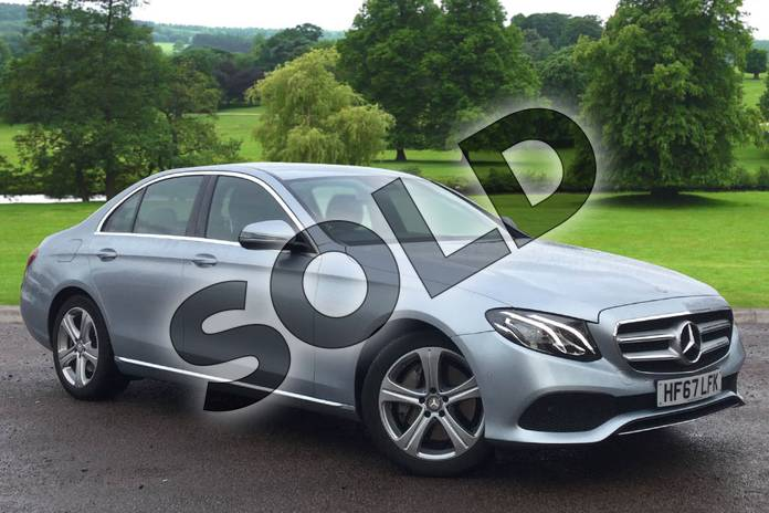 Picture of Mercedes-Benz E Class E350d SE 4dr 9G-Tronic in Diamond Silver Metallic
