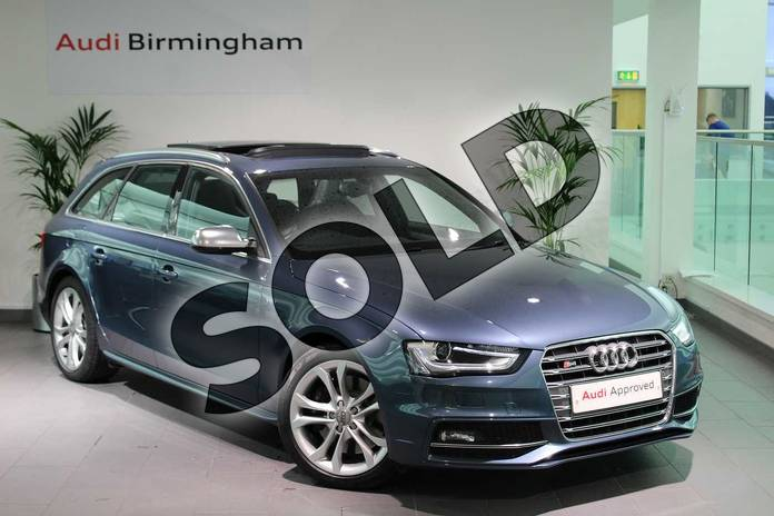 Picture of Audi A4 S4 Quattro 5dr S tronic in Utopia Blue, metallic