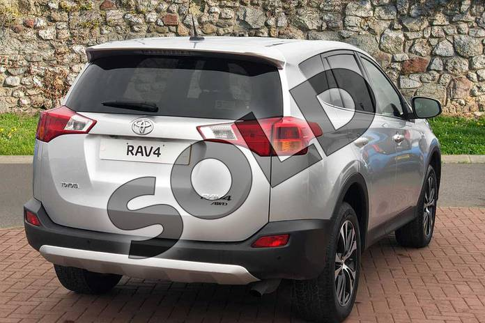 Image two of this 2015 Toyota RAV4 Estate 2.0 V-Matic Invincible 5dr M-Drive S in Silver at Listers Toyota Nuneaton