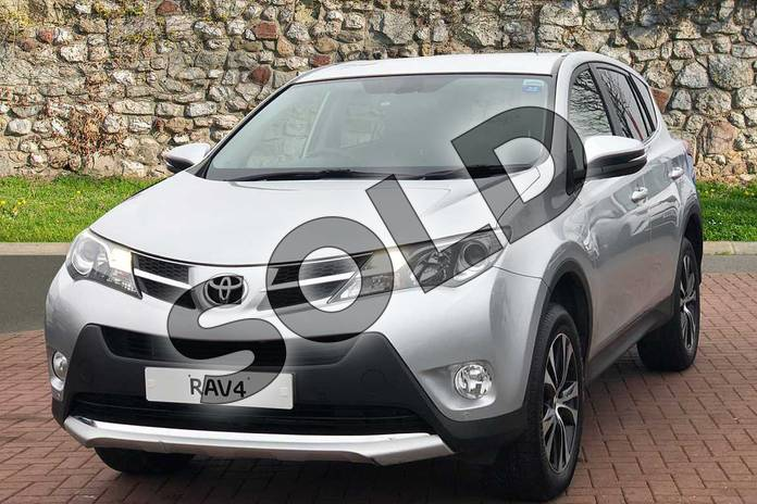 Image three of this 2015 Toyota RAV4 Estate 2.0 V-Matic Invincible 5dr M-Drive S in Silver at Listers Toyota Nuneaton