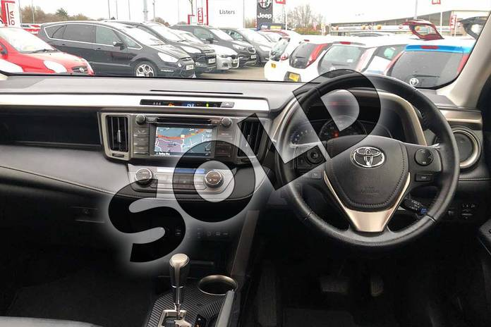 Image five of this 2015 Toyota RAV4 Estate 2.0 V-Matic Invincible 5dr M-Drive S in Silver at Listers Toyota Nuneaton